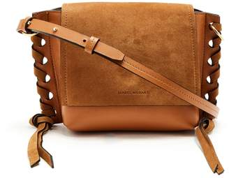 Isabel Marant Kleny suede and leather cross-body bag