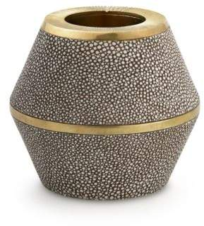 Shagreen & Brass Cone Match Strike