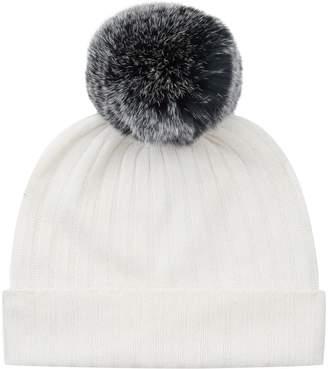 Belle Enfant Fur Pom Pom Hat