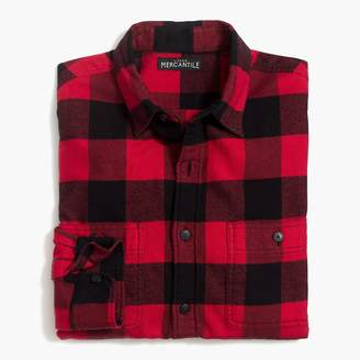 Buffalo David Bitton Mercantile Slim-fit flannel shirt in check