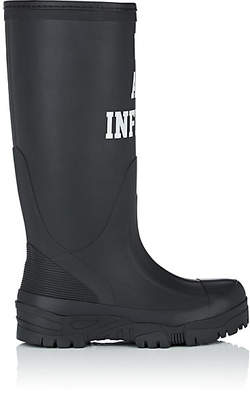 "Undercover Women's ""We Are Infinite"" Rubber Rainboots - Black"