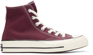 Converse Burgundy Chuck 70 High Sneakers