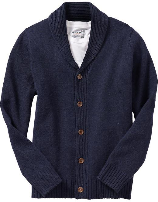 Old Navy Men's Wool-Blend Shawl Cardigans