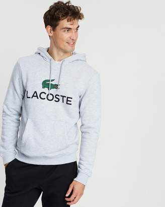 Lacoste Hooded Logo Pullover