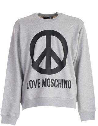 Love Moschino Printed Sweatshirt