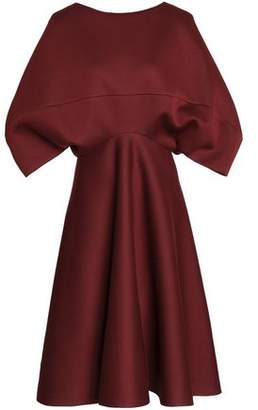 Chalayan Draped Scuba-modal Dress