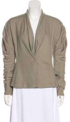 Donna Karan Long Sleeve Wool Jacket