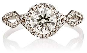 Monique Péan Women's Brilliant-Cut White Diamond Ring