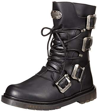 Demonia Men's DEFIANT-306 Mid Calf Boot