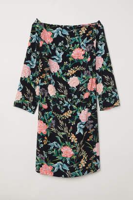 H&M H&M+ Knee-length dress - Black