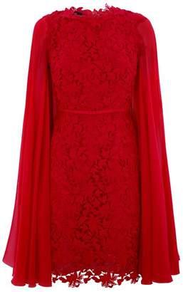 Giambattista Valli Lace Cape Dress