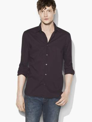 John Varvatos Micro-Dot Shirt