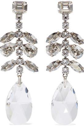 Isabel Marant Silver-tone Crystal Earrings