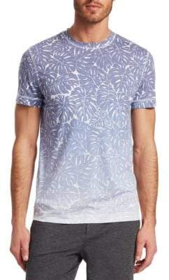 Saks Fifth Avenue MODERN Ombre Leaf Print T-Shirt