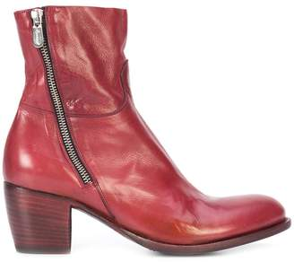 Rocco P. mid-heel ankle boots
