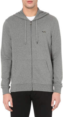Michael Kors Zip-up stretch-cotton hoody