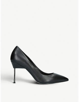 Kurt Geiger London Britton 90 stiletto-heel leather court shoes