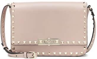 Valentino Rockstud Satchel leather shoulder bag
