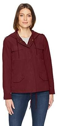 Jason Maxwell Womens Outerwear Anorak Jacket with Hood