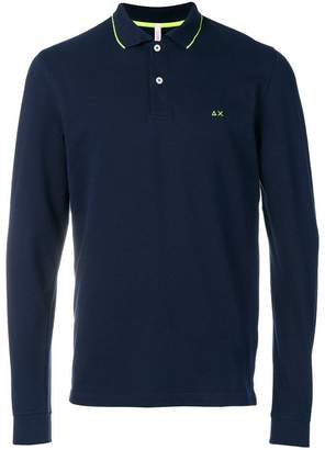 Sun 68 longsleeved polo shirt jumper