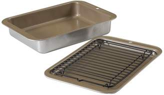 Nordicware 3-Piece Toaster Oven Grilling and Baking Set