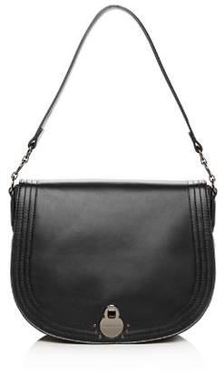 Longchamp Cavalcade Large Leather Shoulder Bag