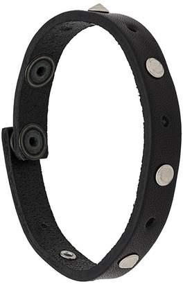 Diesel studded slim bracelet