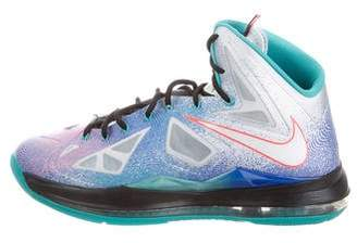 Nike Lebron 10 Pure Platinum Sneakers w/ Tags
