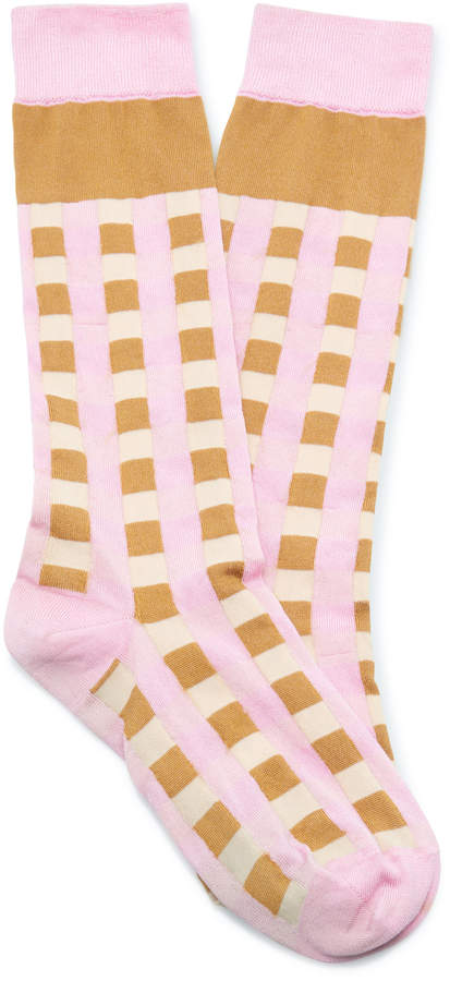 Checkerboard Sock