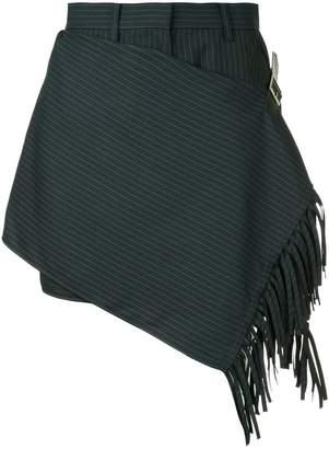 Sacai tailored wrap style shorts