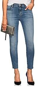 J Brand Women's Alana High-Rise Crop Skinny Jeans - Lt. Blue