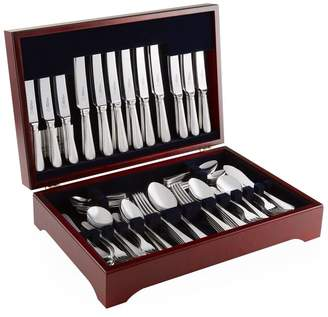 Arthur Price Of England Bead Sovereign Stainless Steel 124-Piece Canteen