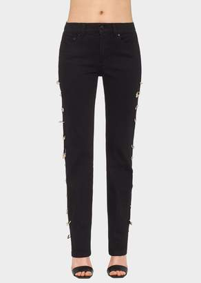 Versace Safety Pin Jeans