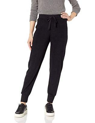 Three Dots Women's UY6175 Sherpa Yarn DYE Jogger Pant
