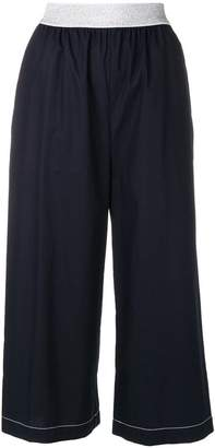 I'M Isola Marras cropped wide leg trousers