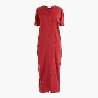 J.Crew Universal Standard for cupro tunic dress