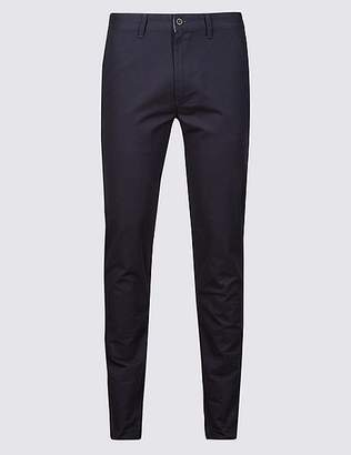 Marks and Spencer Skinny Fit Pure Cotton Chinos
