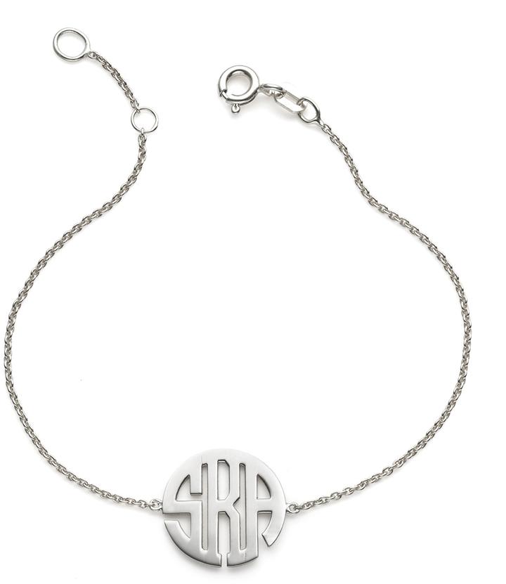 Sarah Chloe Kiyla Monogram Bracelet