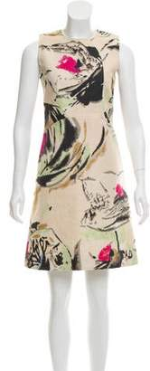 Marni Printed Woven Dress