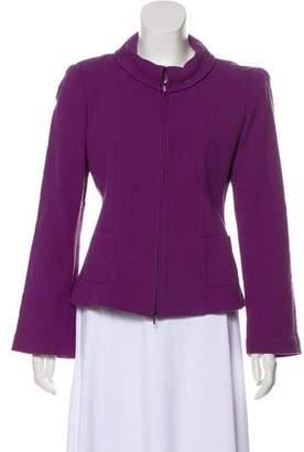 Armani Collezioni Structured Wool Jacket