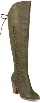 Journee Collection Spritz Wide Calf Over The Knee Boot - Women's