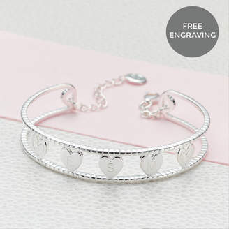Molly Brown London Personalised Her Love Bangle