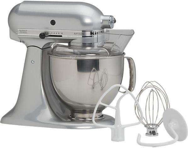 KitchenAid® Artisan Metallic Chrome Stand Mixer. 5 qt.