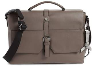 Ted Baker London Sandune Leather Messenger Bag