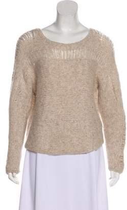 Raquel Allegra Alpaca Crew Neck Sweater