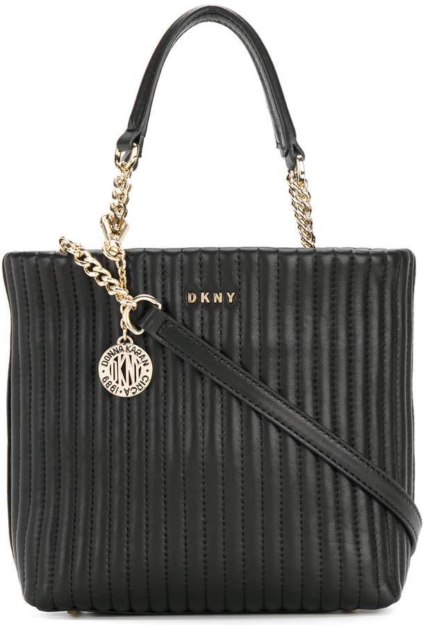 DKNY matelassé effect bag