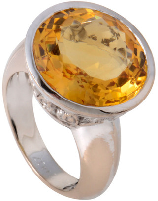 Carrera Heritage Y  Y 18K Citrine Ring