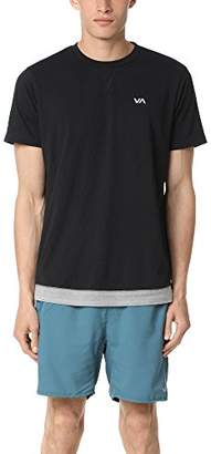 RVCA Men's Runner Mesh Short Sleeve Shirt