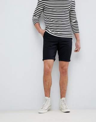 New Look Regular Fit Chino Short In Black