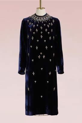 Biyan Lisabeth Velvet Dress